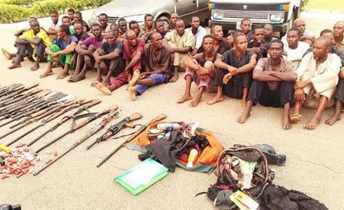 'Fulani' terrorists arrested at traffic stop near Abuja in April