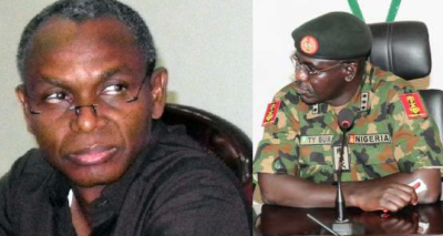 Implicated Kaduna governor Nasir el-Rufai and Amy chief Tukur Buratai