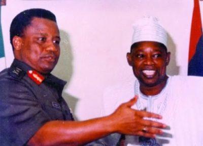 Babangida and crony Abiola