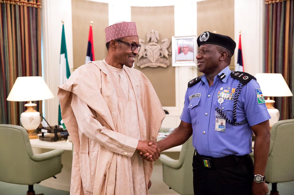New police chief Ibrahim Kpotun Idris: The army has usurped the duties of the police in Nigeria