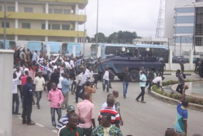 rivers government hosue protest