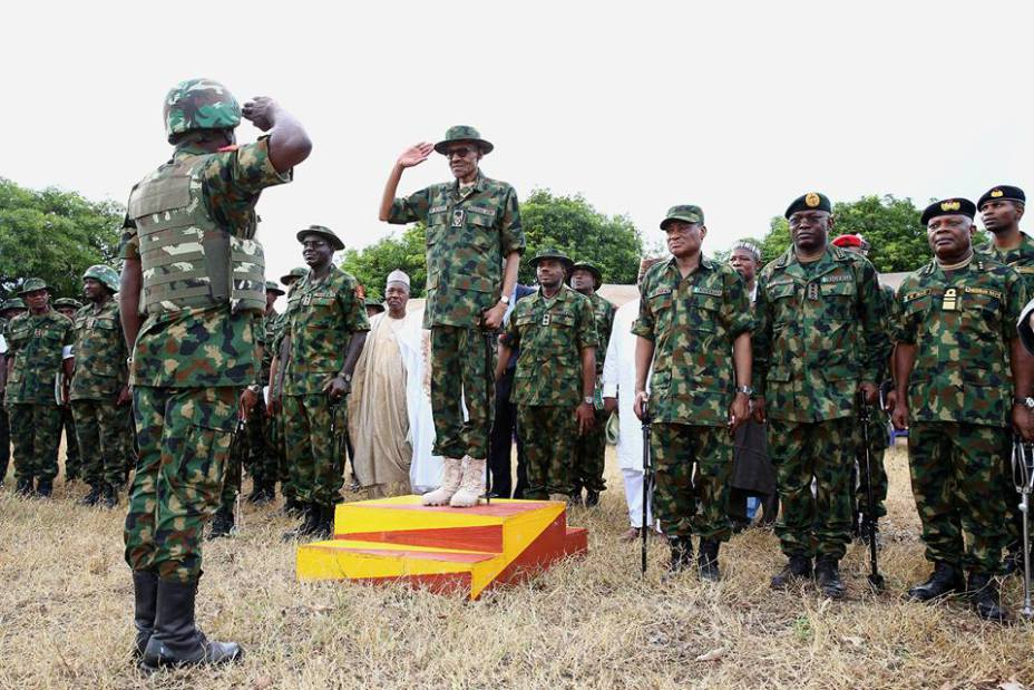 """Pictures-President-Buhari-Dressed-In-Army-Uniform-In-Zamfara-Today""-1"