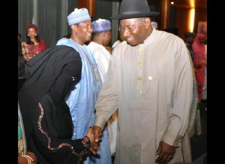 Jonathan meets with Aisha Wakil