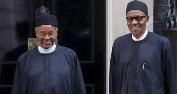 Maman Daura, Nigeria's defacto president