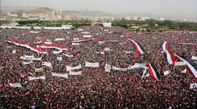 yemen rally
