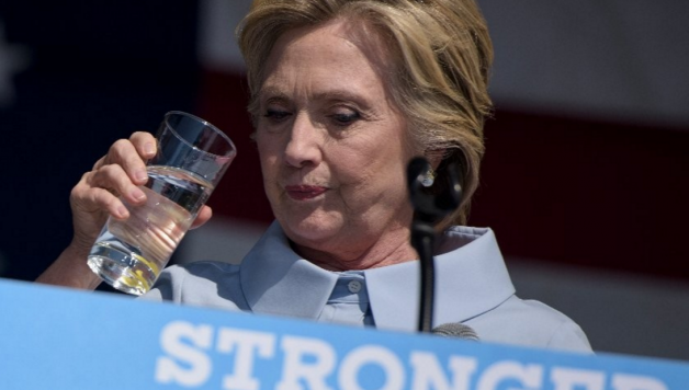 Clinton Speech Drinking Water