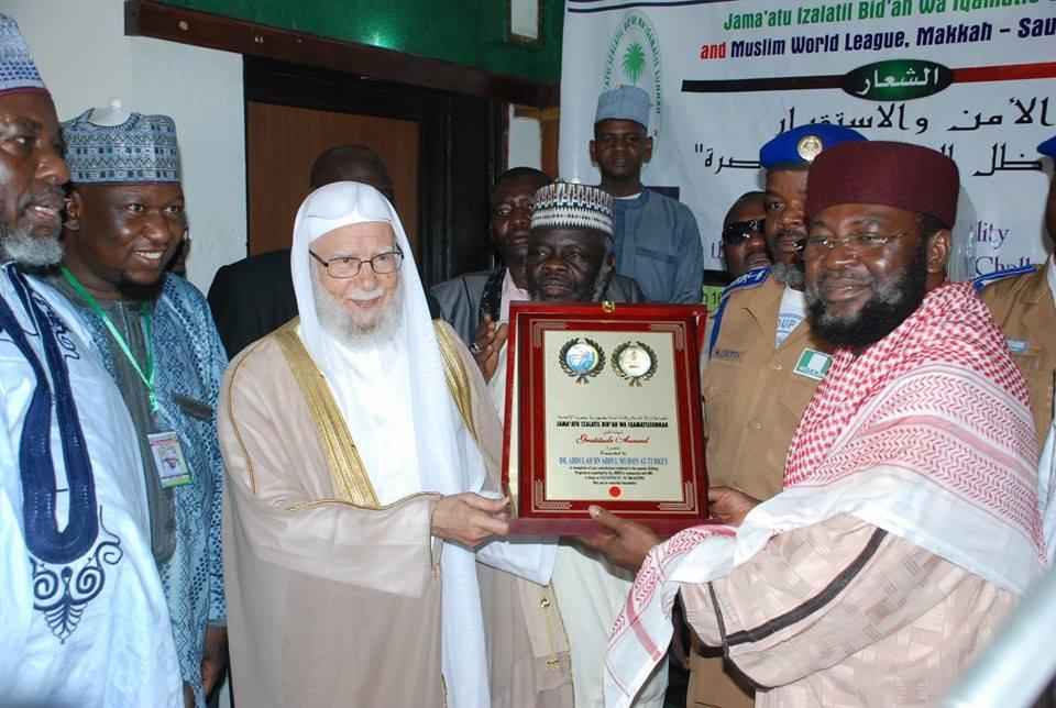 Saudi Wahhabi leadrer Turki meets Bala Lau in Nigeria, May 2016