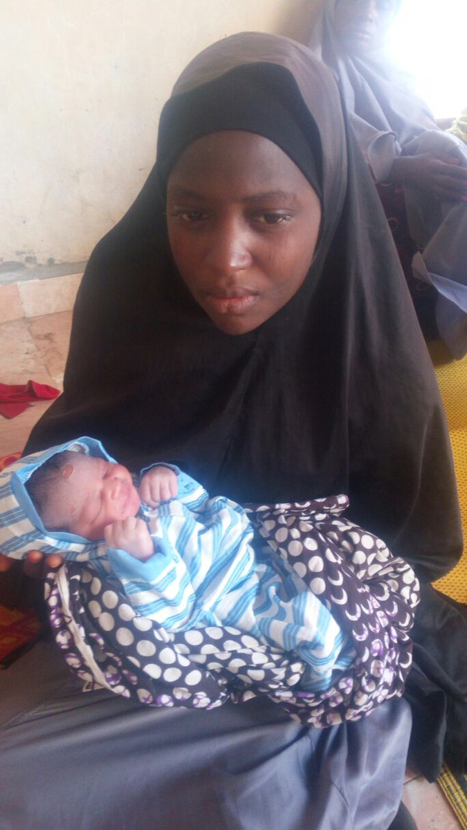 Widowed and orphaned born a day after