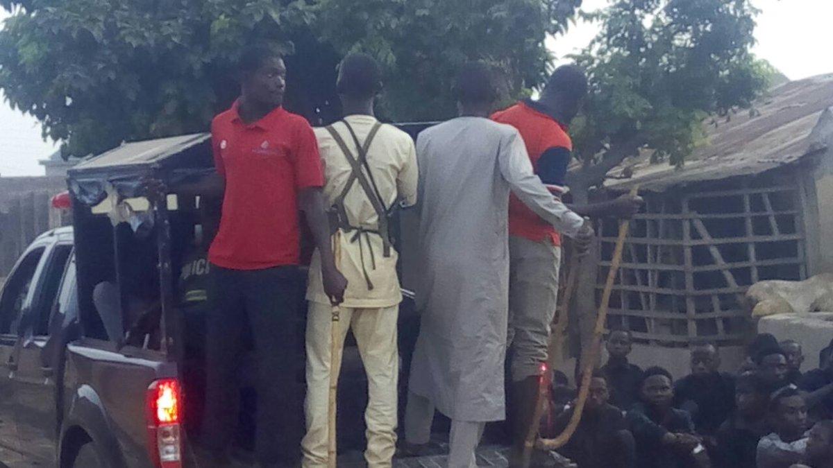 Thugs, muft-dressed policemen or takfiri hooligans in police vans