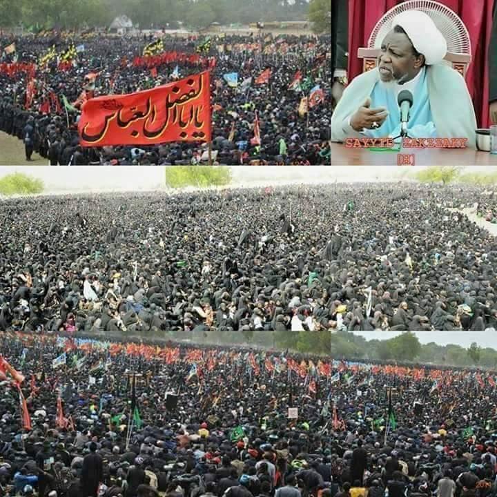 Shia Muslim crowds in Nigeria