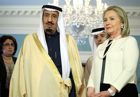 Clinton partnership with terror-linked Arab leaders