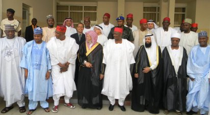 Nigerian Governors with Muslim World League at Izala sect conference March 2016