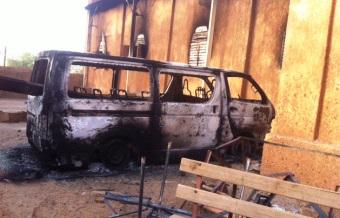 Church burned in Niger