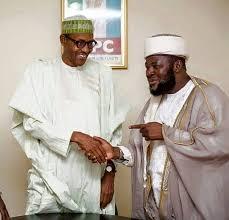 Buhari with extremist Izala sect leader Bala Lau