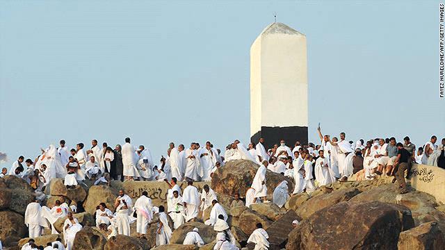 Obelisk at Arafat