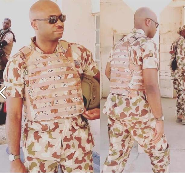Lt.Col. Otos Umusu ..... Dies in battle in North-East.. Photo: Courtesy Funsho Yusuf on Facebook