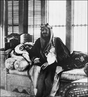 King abdul Aziz bin abdul Rahman al Saud