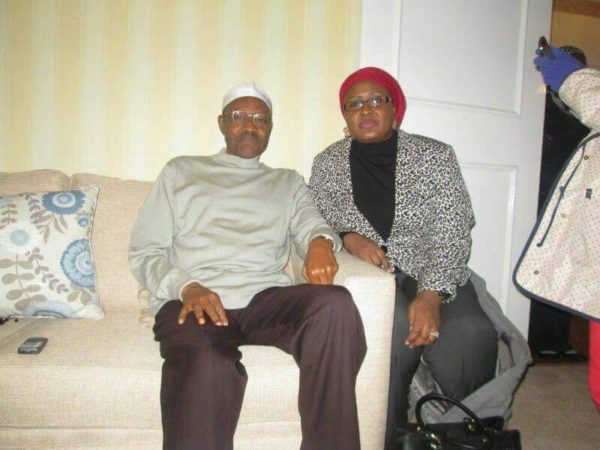 President-Muhammadu-Buhari-and-his-wife