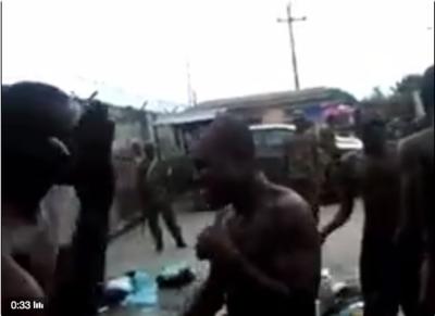 Soldiers-slap
