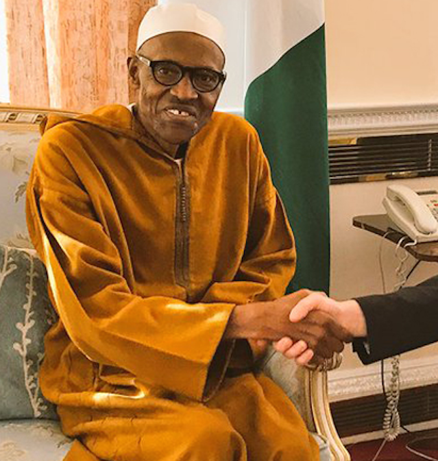buhari welby arch